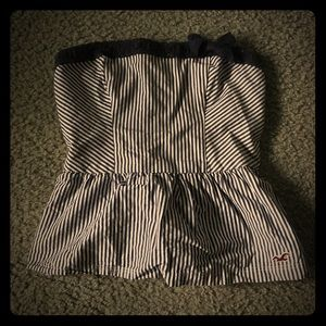 Hollister Tube Top Bow